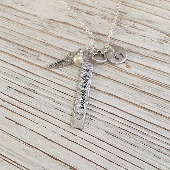 The 25 best miscarriage jewelry ideas on pinterest miscarriage memorial necklace memorial jewelry miscarriage jewelry aloadofball Choice Image