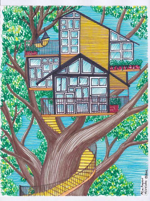 Viñeta Sour - Alim Ampuero: La Casa en el Árbol