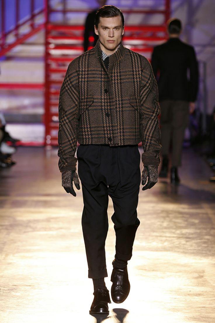 CERRUTI 1881 PARIS FW 14-15 Men's Fashion Show - Look 11