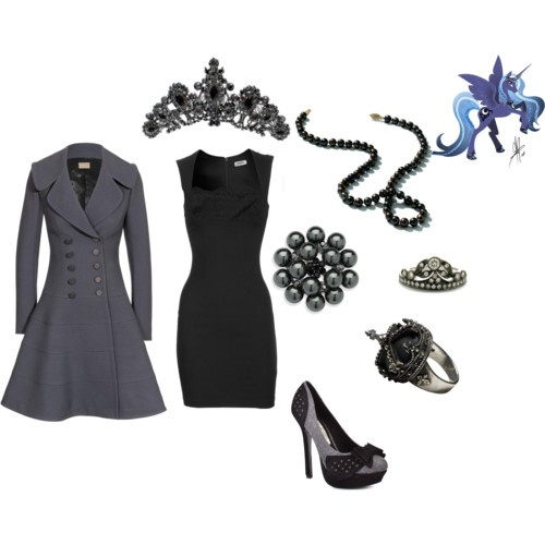 Princess Luna Mlp Fim Fashion Style Pinterest Coats Mlp And Love This
