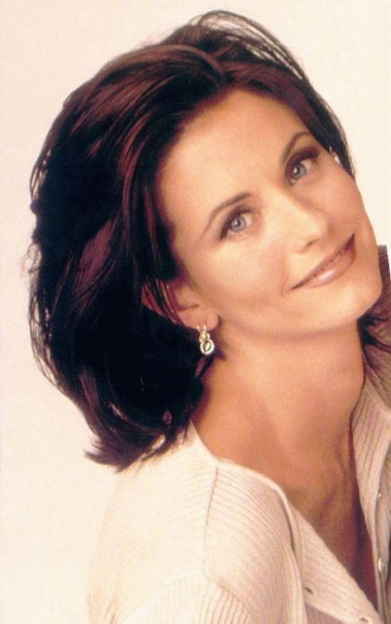 Celebrity Hairstyles Courtney Cox