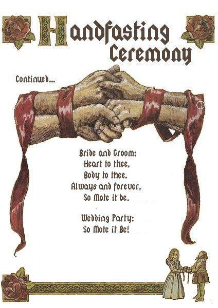 Handfasting Ceremony...we'll be modernizing it a bit lol: Cherish Handfasting, Handfasting Idea, Wiccan Pagan, Handfasting Pt, Hands Fast, Handfasting 3, Handfasting Ceremony, Wiccan Handfasting, Handfasting Weddings