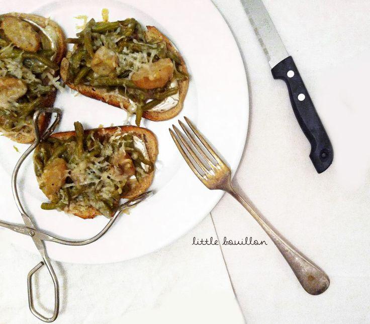 ** Tartine Gourmande et ses petits Légumes ~ Little Bouillon ** http://www.littlebouillon.com/