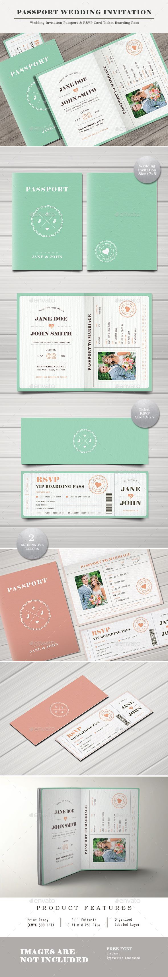 best 25 passport wedding invitations ideas on pinterest passport invitations destination. Black Bedroom Furniture Sets. Home Design Ideas