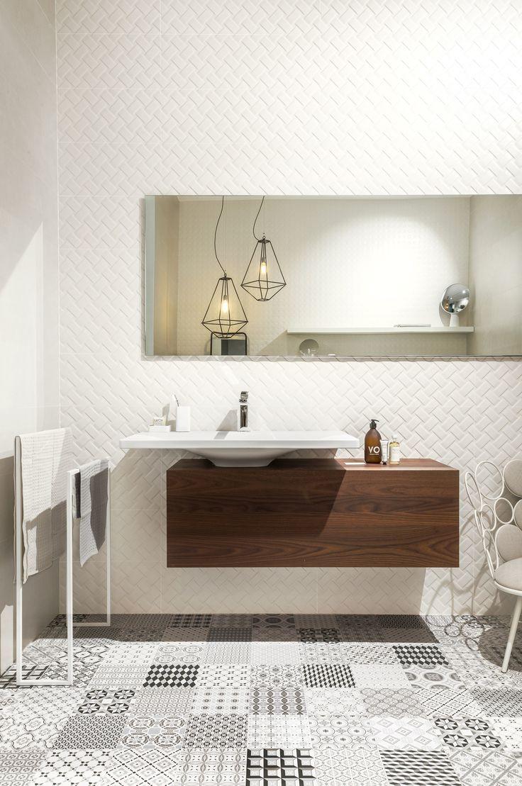 White-paste wall tiles METROCHIC - @sant_agostino