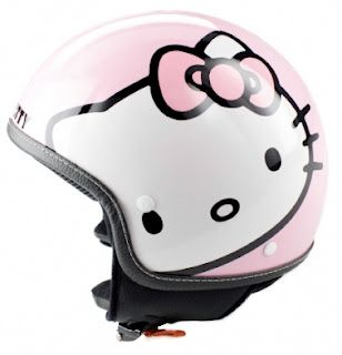 Hello Kitty Motorcycle Helmet