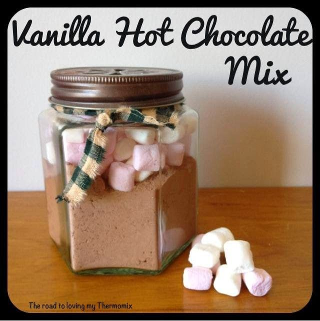 Vanilla Hot Chocolate Mix - The Road to Loving My Thermo Mixer