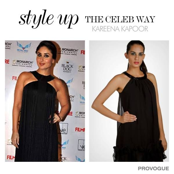 Get yourself a dress similar to Kareena Kapoor for just Rs. 510  Login now - http://www.provogue.com/women