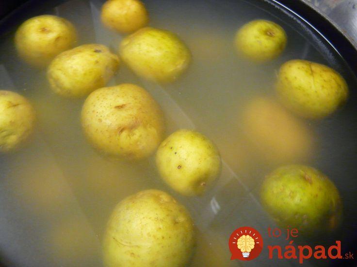 Vodu zo zemiakov nevylievajte! Budete prekvapení, aká je užitočná!