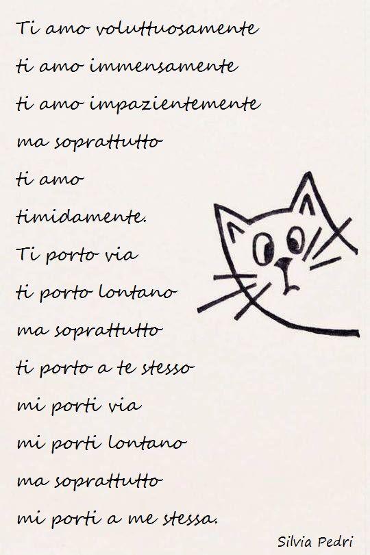 Ti amo voluttuosamente, ti amo immensamente, ti amo impazientemente ma soprattutto ti amo timidamente.  Scopri di più su di me e sulle mie pubblicazioni sul mio sito ufficiale. #poesie #poesiedamore #amore #love