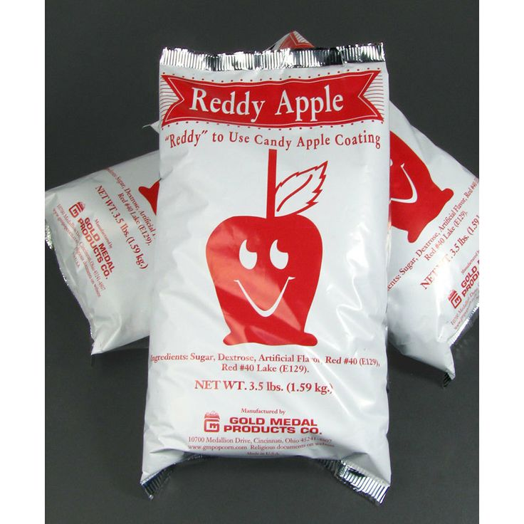 Gold Medal Portion Packed Candy Apple Mix