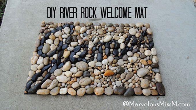 33 best vivarium images on pinterest reptiles for River stone doormat