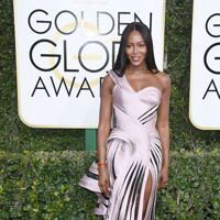 Naomi Campbell, Golden Globe 2017 - in Atelier Versace Fall 2016
