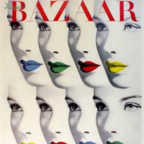 Harper's Magazine Covers Vintage | Daily Inspiration: Bayer Herbert, Harper's Bazaar Cover, August 1940