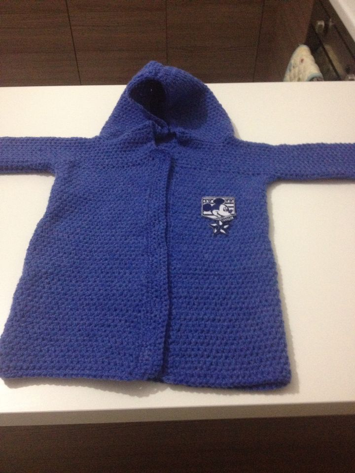 18 to 24 months jacket crochet