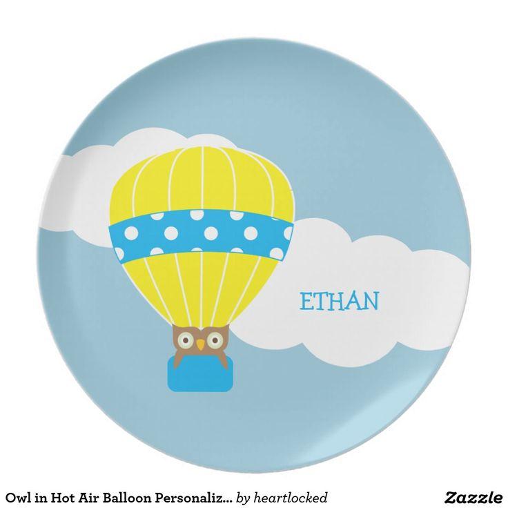 Uil in Gepersonaliseerde de Ballon van de Hete