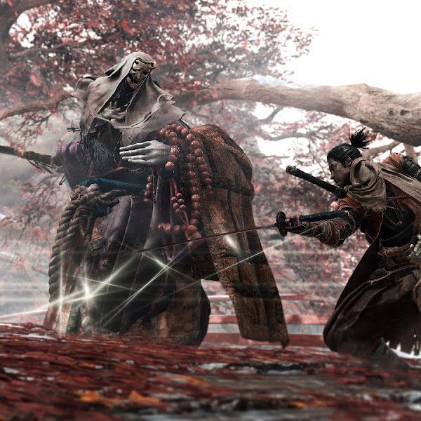 Sekiro Shadows Die Twice Corrupted Monk Boss Fight 4k 3840x2160 Wallpaper Shadow Monk Samurai Art
