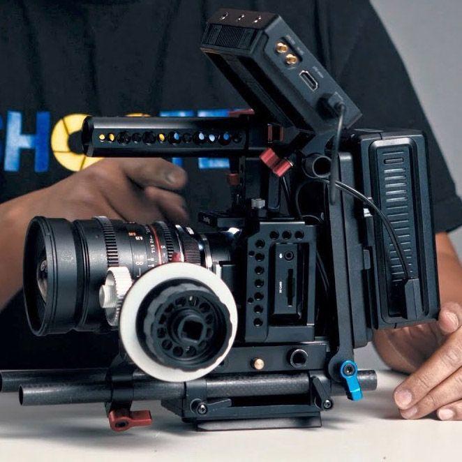 Building The Ultimate Blackmagic Design Micro Cinema Camera Rig Cinema Camera Blackmagic Cinema Camera Camera Rig