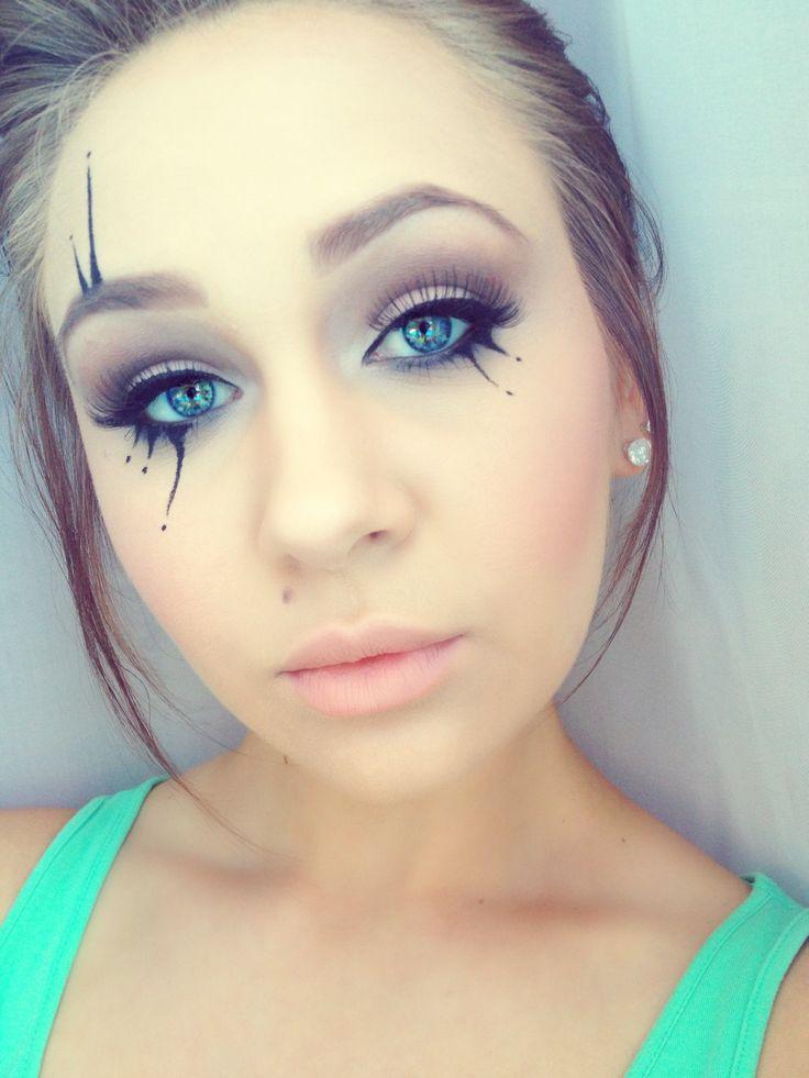Circus makeup! Fun for Mardi Gras