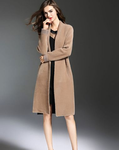 Check the details and price of this Khaki Plain Casual Coat (Khaki, multiflora) and buy it online. VIPme.com offers high-quality Coats at affordable price.