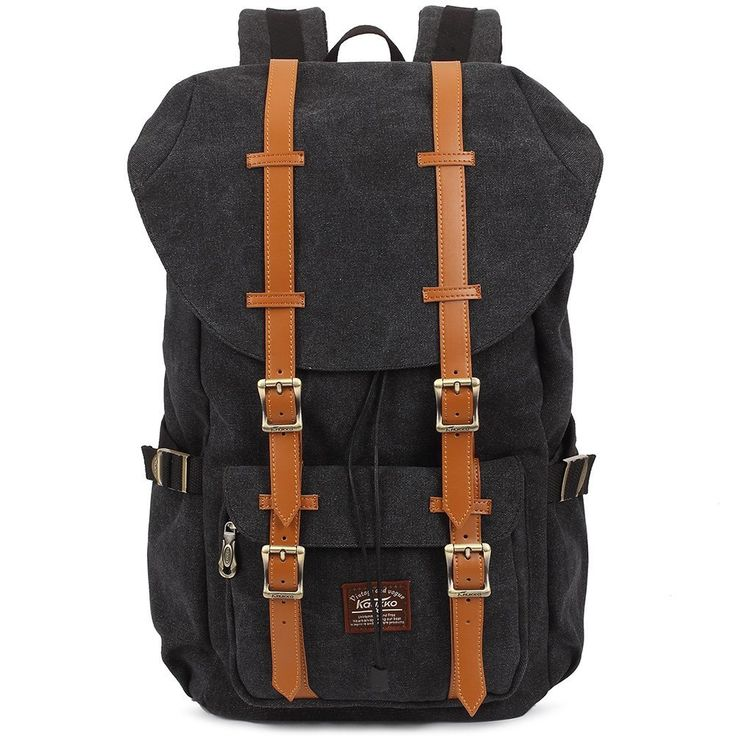 Kaukko 2 Side Pockets Outdoor Travel Hiking Backpack School bag