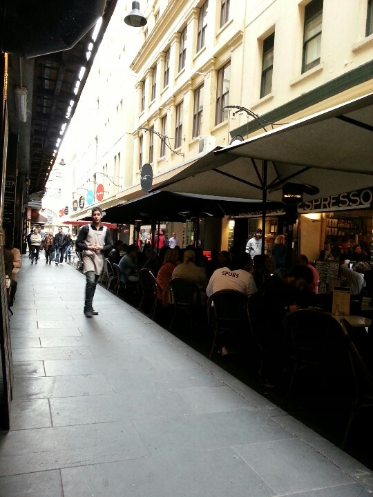 Brunch time in Melbourne