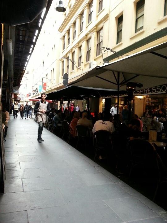 Brunch time in Melbourne