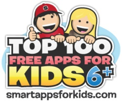 Top 100 Apps for kids 6+ years old including Lego, Toontastic, National Geographic and Meteor Math