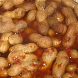 These Cajun Boiled Peanuts Taste just like the ones you get at the roadside stands down south!!!