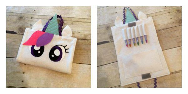 Create Kids Couture: Unicorn Crayon Case
