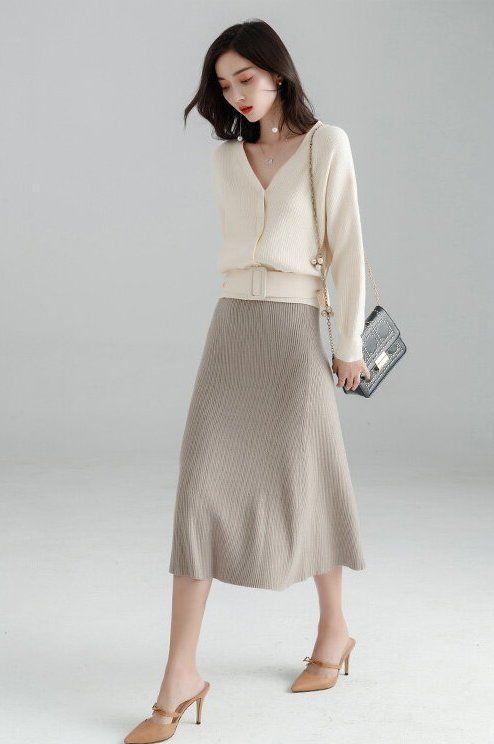 82882a7eb8d3a 2019冬人気の女性オフィスカジュアルレディースファッションコーデ – SUWAI