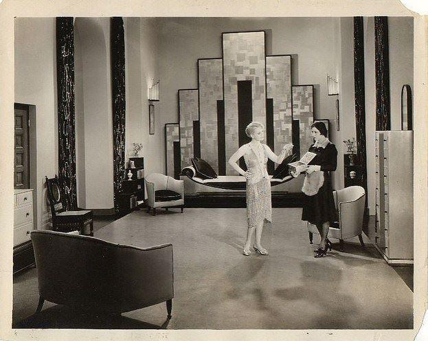 Art deco hollywood divinely inspired 17 pinterest for Vintage art deco interior design