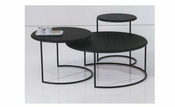 Une table gigogne vous offre du confort et de l 39 esth tisme id es d co tables - Table de salon gigogne ...