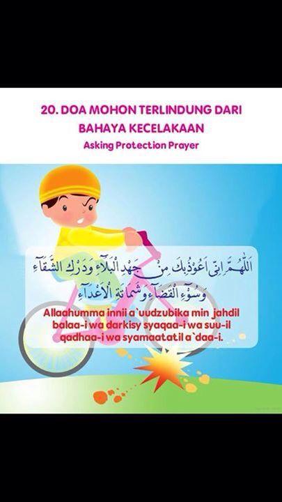 Doa mohon terlidung Dari bahaya