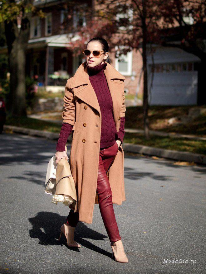 Уличная мода: Мода для беременных осень 2014