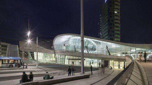 L'ingresso alla nuova stazione di Arnhem © Ronald Tilleman