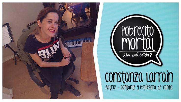 Constanza Larraín, actriz cantante y profesora de canto