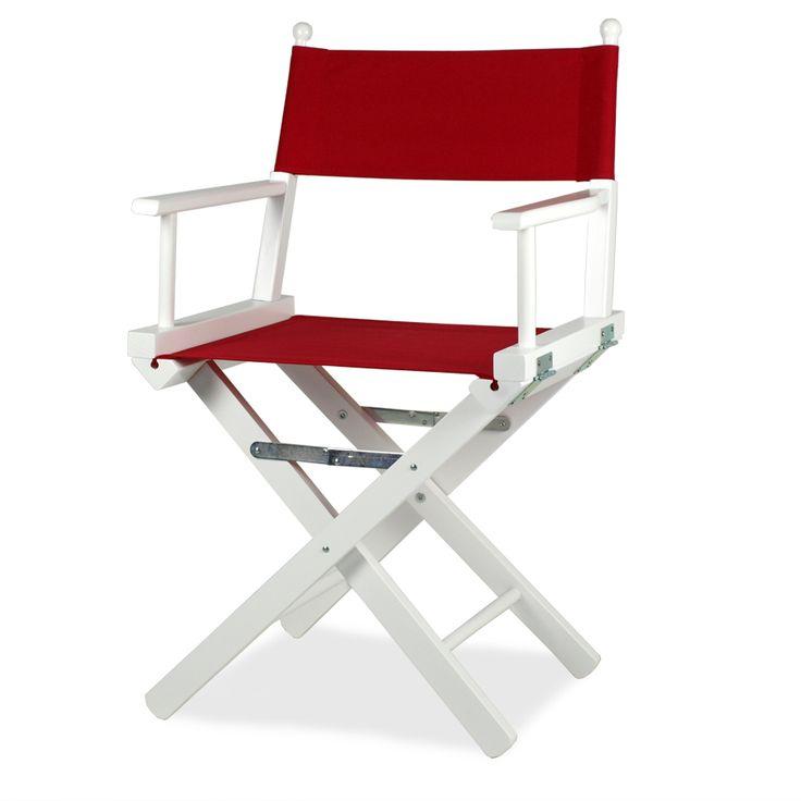 Regista P-L. Questa versione è in legno laccato bianco mentre il tessuto è disponibile in: ecrù, bianco, giallo, rosso, verde, blu e nero. Su richiesta, schienale e seduta sono disponibili anche in tessuto PVC (plastificato traforato), negli stessi colori.