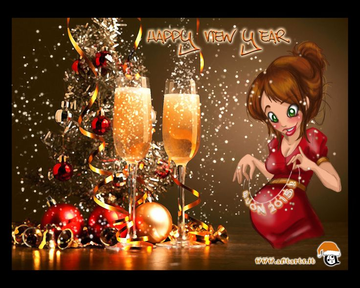 Buon 2015! sketch e fotoritocco