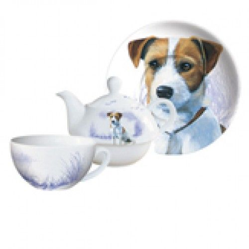 Tea Pot for One - Jack Russell