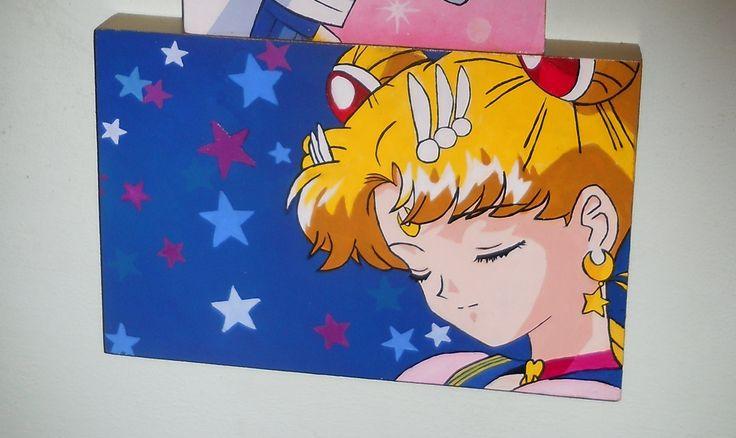 Eternal Sailor Moon HAND painted 20x30cm :)♥