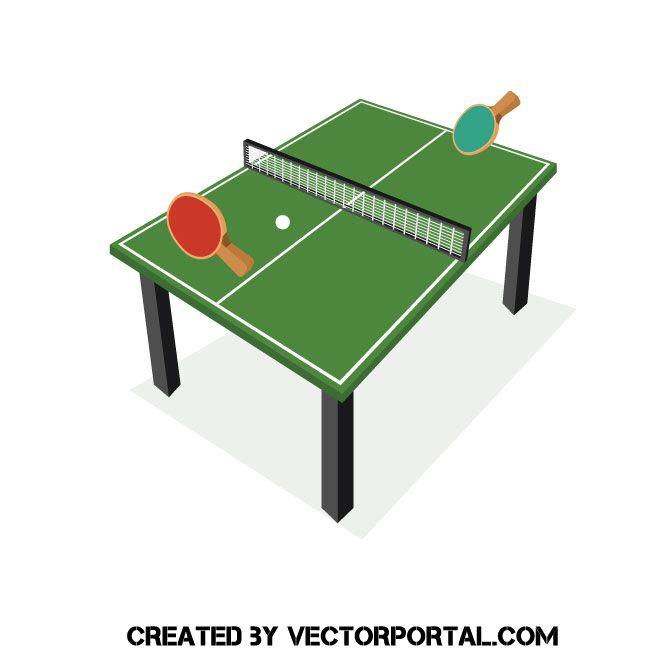 Ping Pong Vector Clip Art Clip Art Free Clip Art Vector