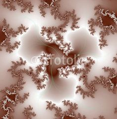 Silver fractal background