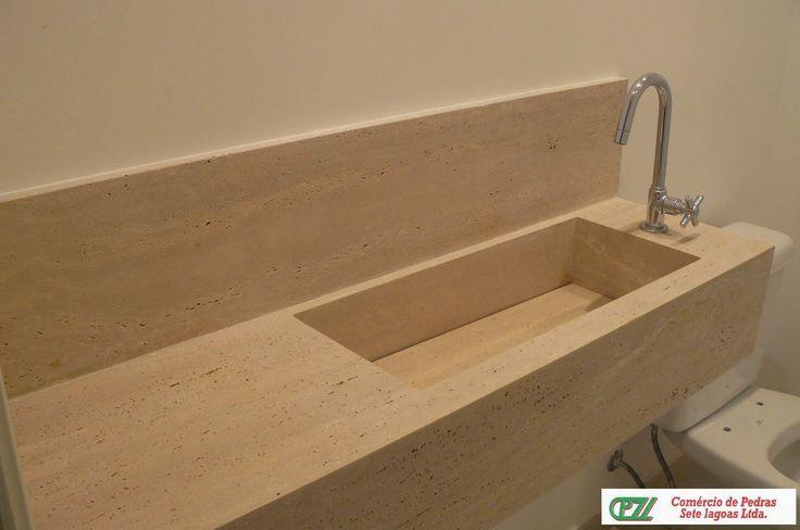 pia esculpida lavabo  Pesquisa Google  Banheiros e lavabos  Pinterest  Pe -> Pia De Banheiro Esculpida