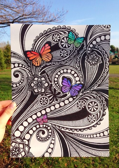 zentangle doodles | Tumblr