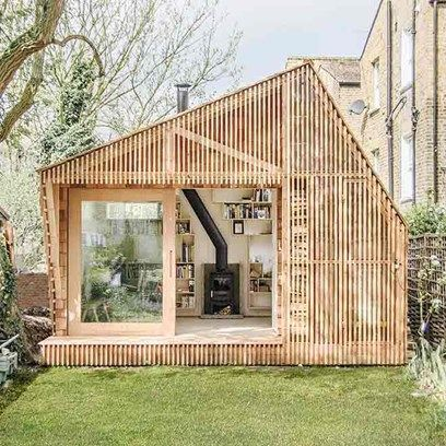 Writer's Shed in Hackney