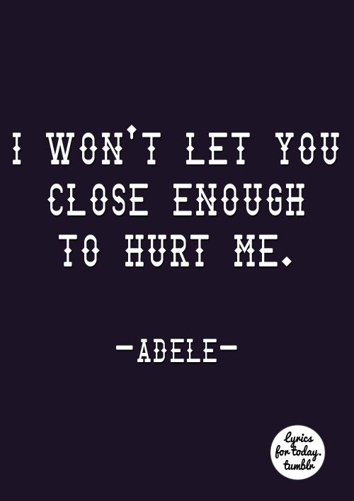 """No, I won't, rescue... you to just desert me. I can't give you, the heart you think you gave me. It's time to say goodbye, to turning tables.""... ""Turning Tables""- Adele ♥."