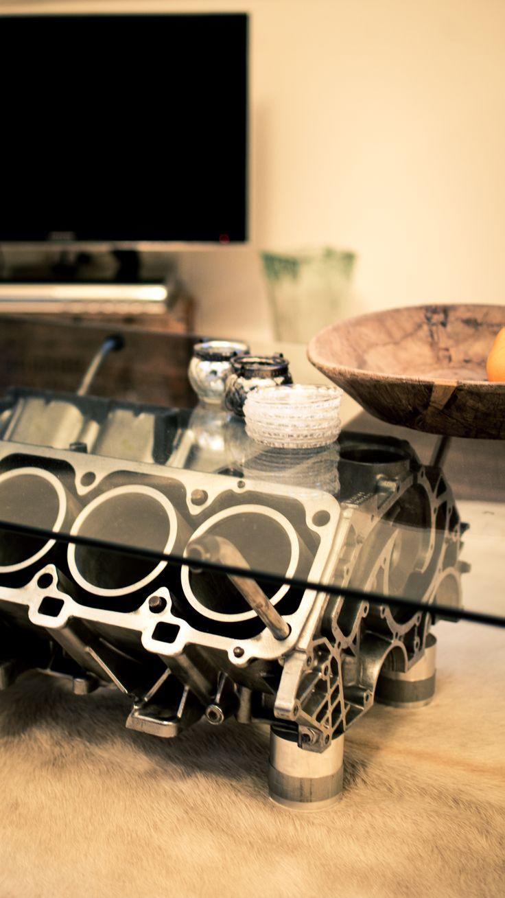 V8 Porsche Engine Coffee Table Dark Side Pinterest