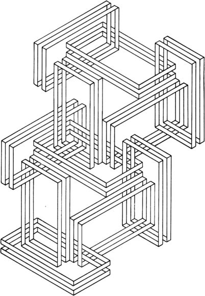 Optical Illusion 24 Coloring page