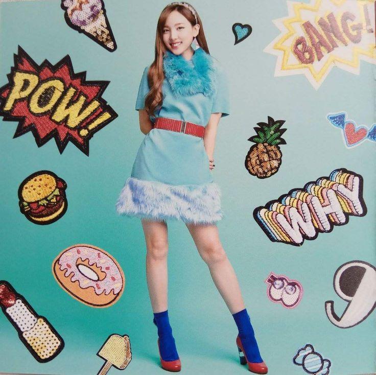 Twice-Nayeon Japan 2nd Single #CandyPop